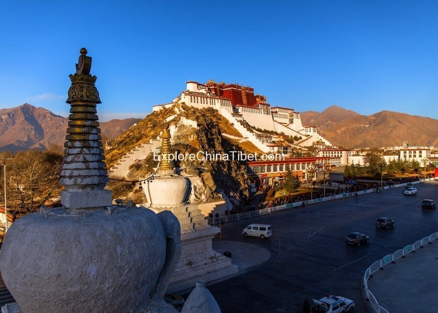 8 Days Everest B.C. Group Tour-Potala Palace Explore China Tibet