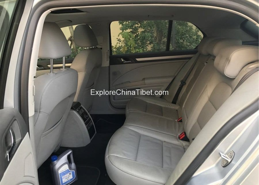 China Car Rental Volkswagen Skoda-Rear Seats 2