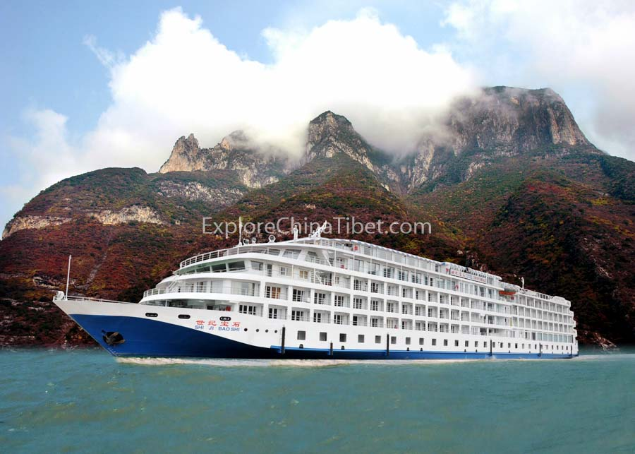 Chongqing to Yichang Century Emerald Cruise 1-1