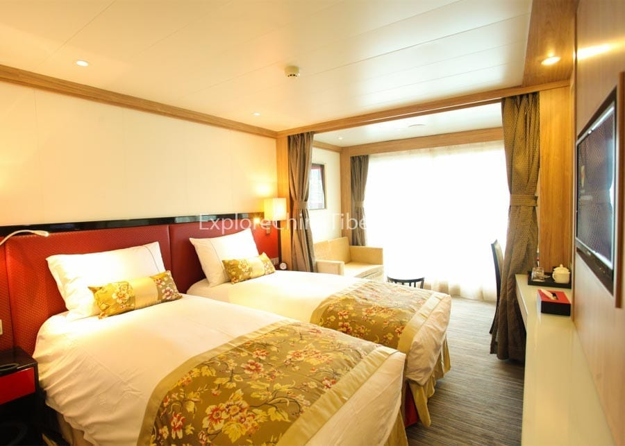 Chongqing to Yichang Century Legend Cruise Deluxe Cabin