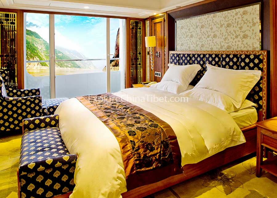 Chongqing to Yichang President No.7 Cruise Presidential Suite