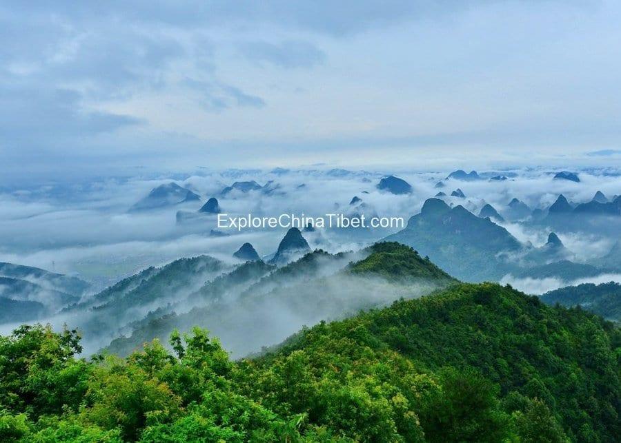Guilin Hiking Tour Mt. Yao 4-2