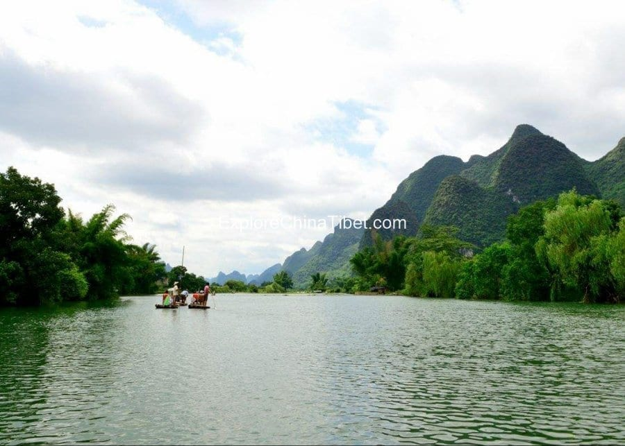 Guilin Local tour Yulong River 1-2