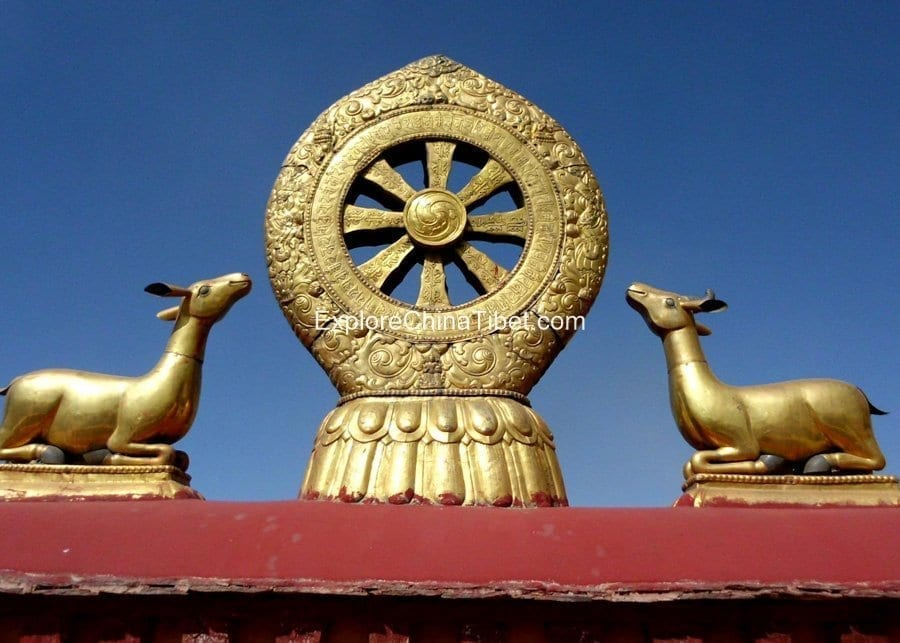13 Days Sichuan To Tibet Northern Highway Overland Tour-Lhasa Local Tour Jokhang Temple