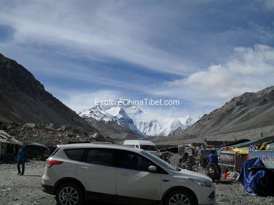 Mt Everest base camp adventure tour of Tibet
