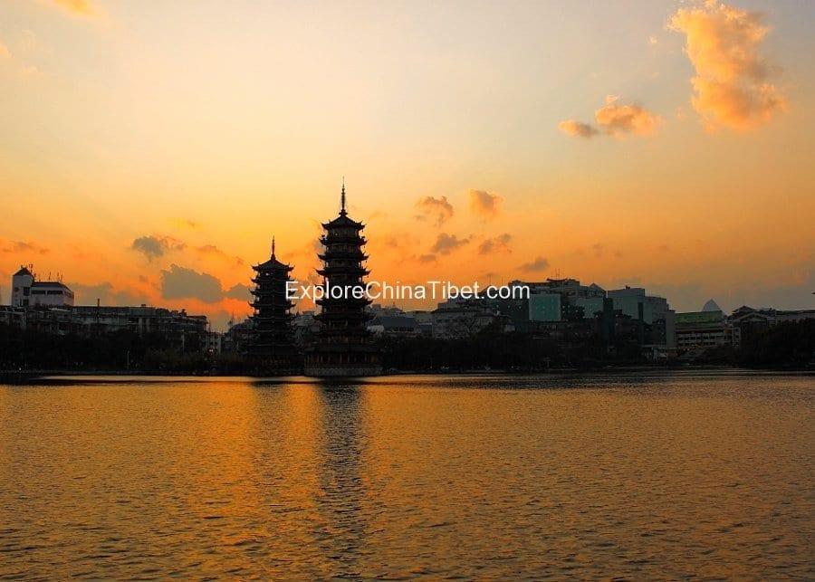 Riyue Shuangta Cultural Park Guilin City Tour 2