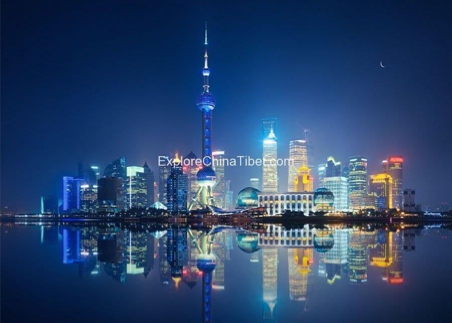 Shanghai Night View 3