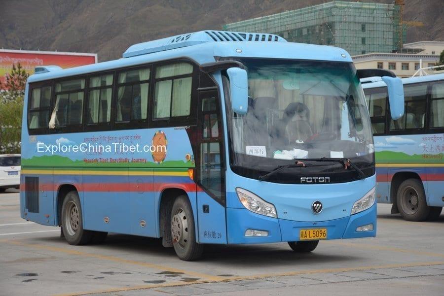 Tibet Car Rental Yutong Mini Bus-Appearance 7