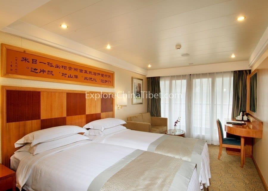 Yichang to Chongqing Century Diamond Cruise Deluxe Cabin
