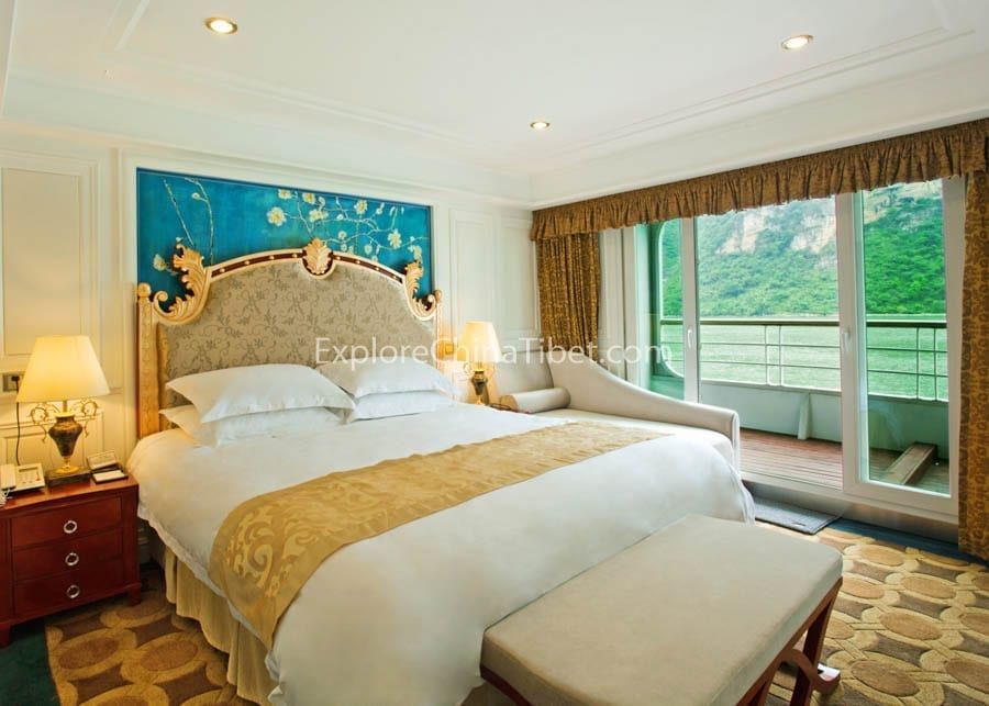 Yichang to Chongqing President Prime 6 Cruise Deluxe Presidential Suite