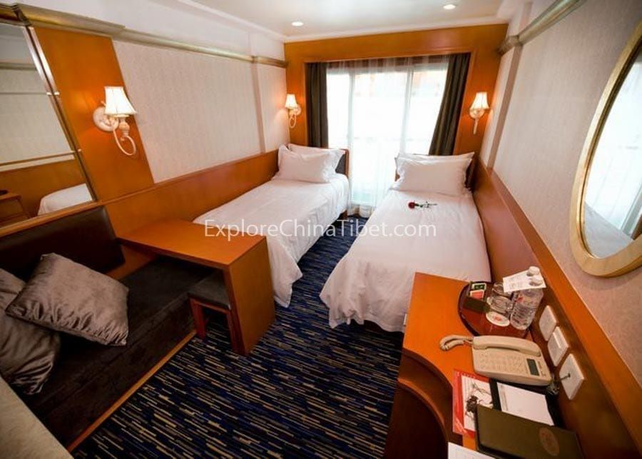 Yichang to Chongqing Victoria Selina Cruise Superior Cabin