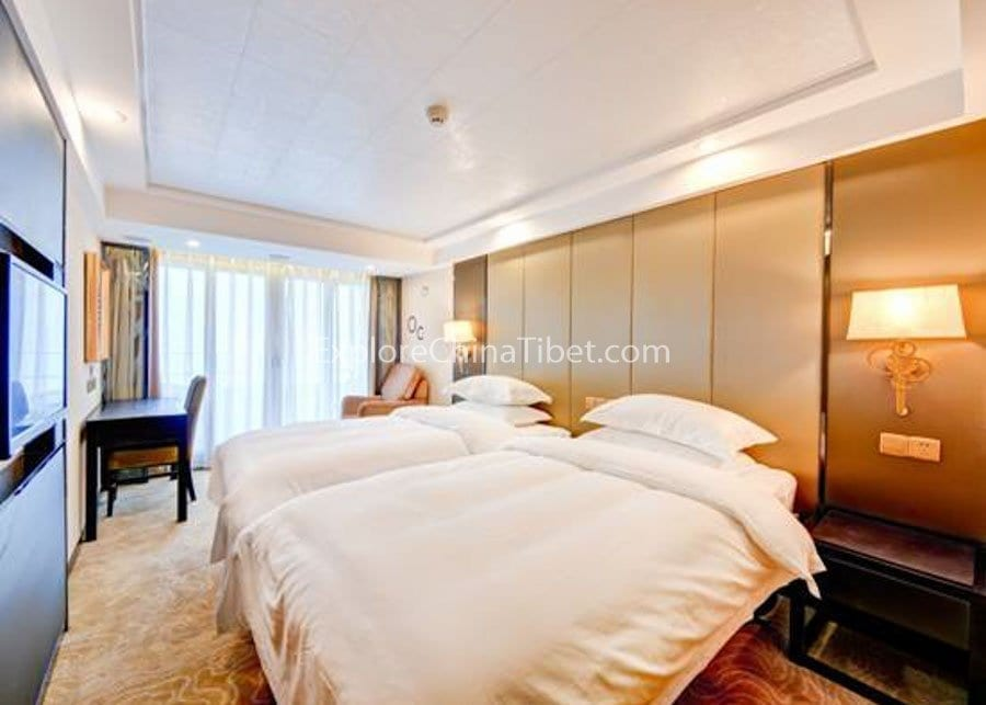 Yichang to Chongqing Yangtze Gold 7 Cruise Deluxe Standard Cabin