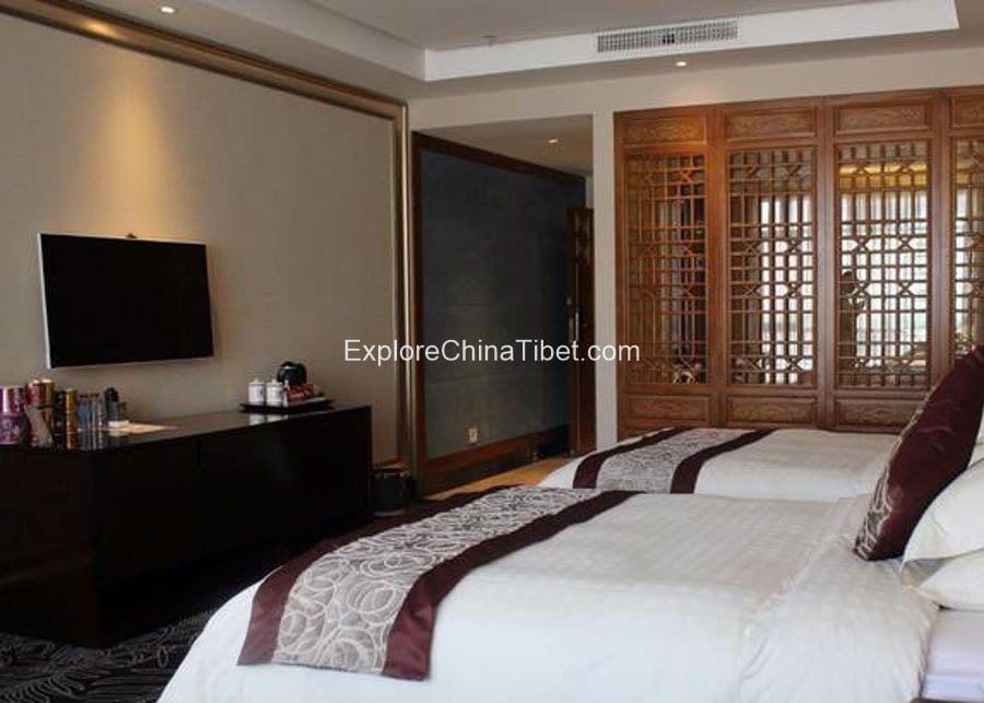 Shannan Ze source Theme HoteI Business Double Room