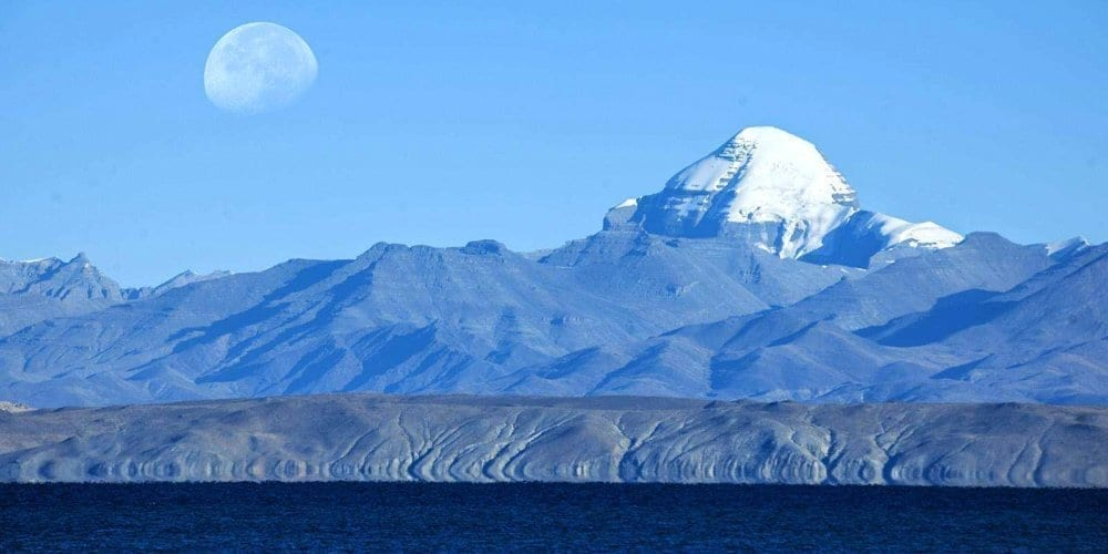 Mount Kailash pilgrimage -view from a far