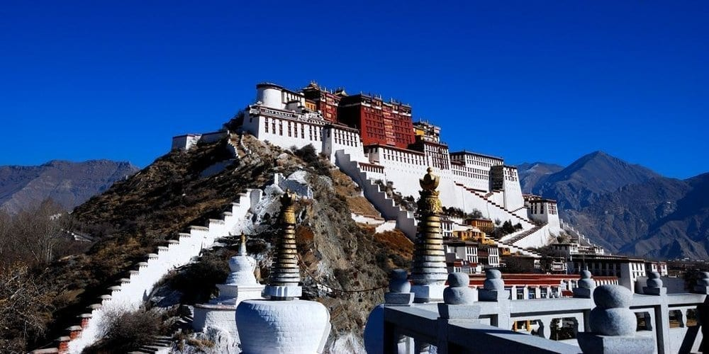 Welcome to Visit Tibet Lhasa top attraction Potala Palace