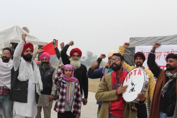 Farmers protest delhi images