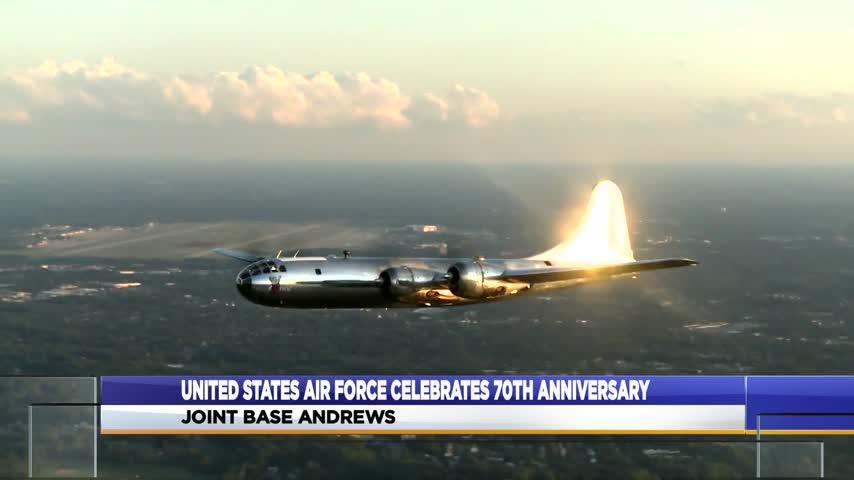 U.S. Air Force celebrates 70 years