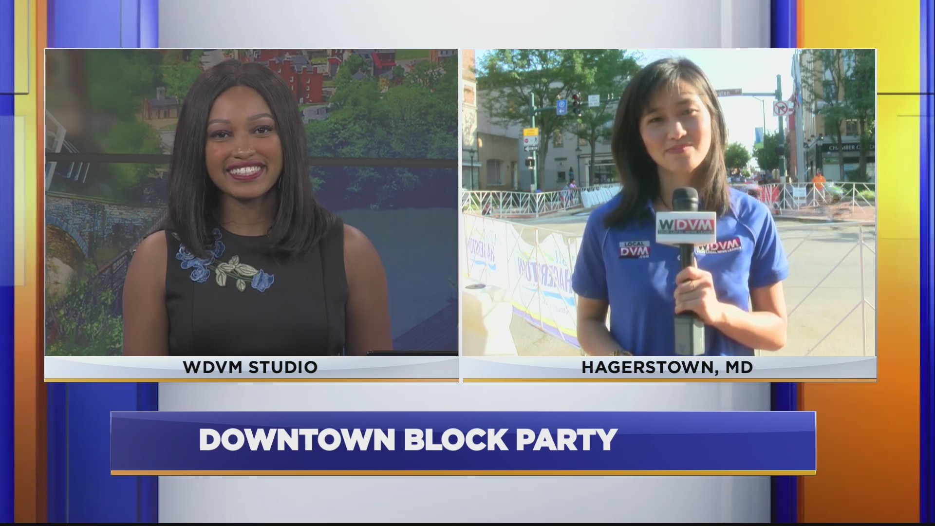 HAGERSTOWN BLOCK PARTY