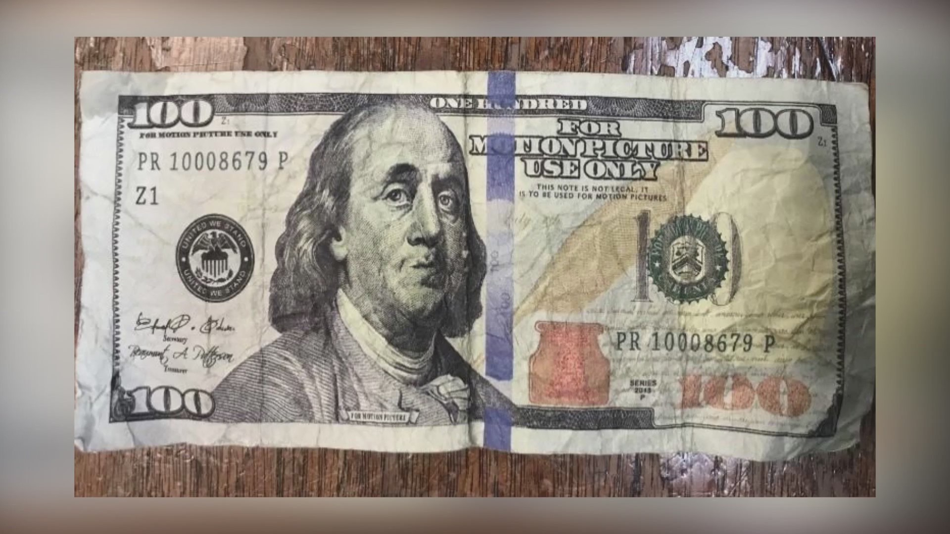 COUNTERFEIT CASH CIRCULATING