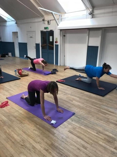 Group Pilates classes in Leicestershire