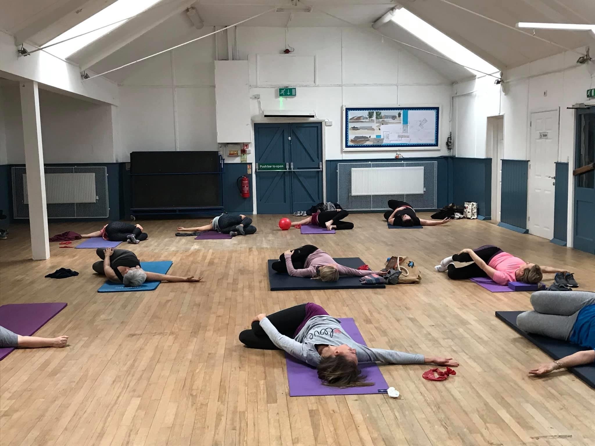 Fitness Pilates classes in Leicestershire