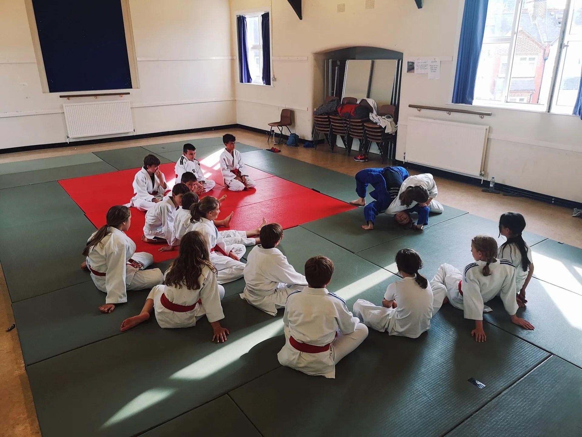 London judo classes