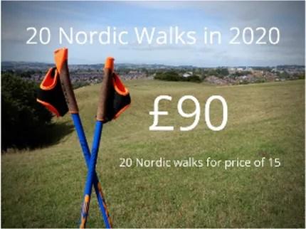 Exeter Nordic walking class price