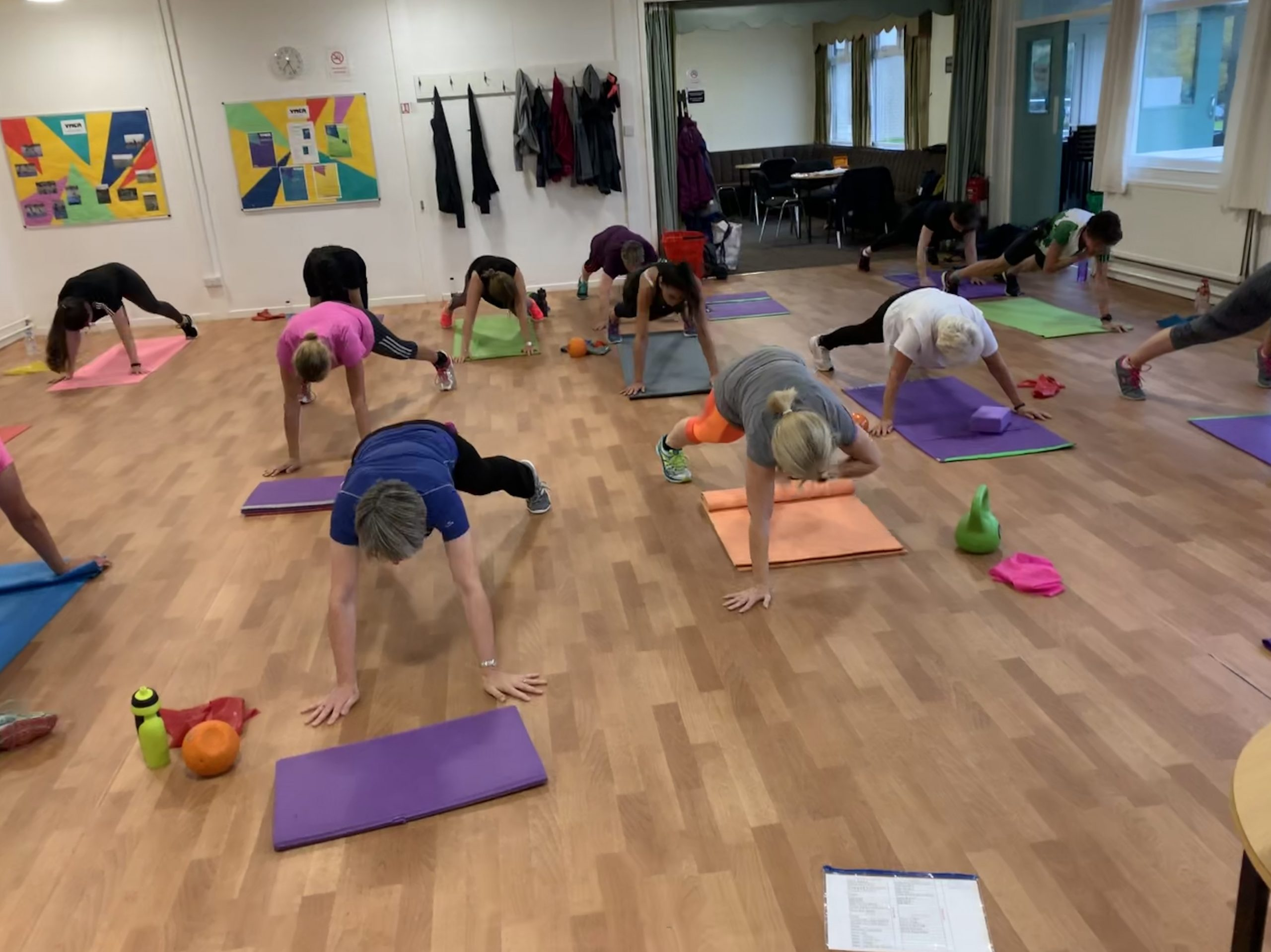 core strength exercise class in Leeds
