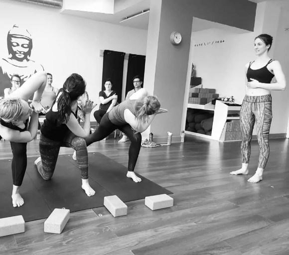 Yoga class in Fulham