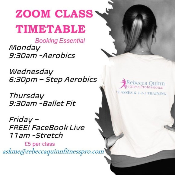 Zoom class online timetable
