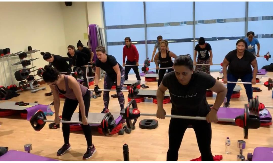 Personal training class in Essex