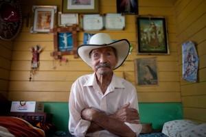 Costa Rican centenarian. Photo by Monique Quesada