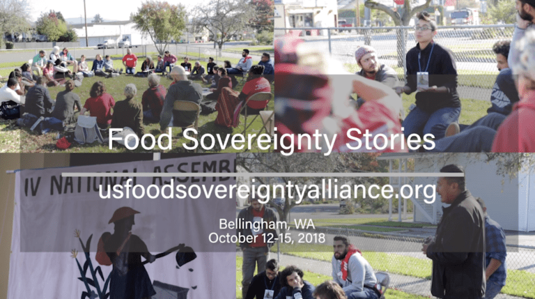 Food Sovereignty Stories