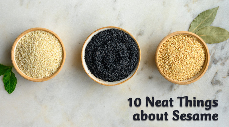 10 neat things about sesame