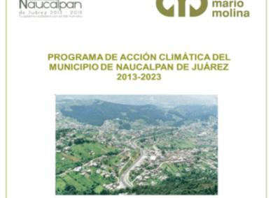 Programa de Acción Climática del Municipio de Naucalpan de Juárez 2013 – 2023 (PACMUNA)