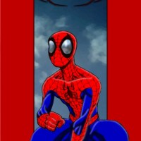 Ultimate Spiderman Coloured