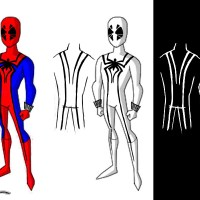 Sketch - Spiderman Costume Concepts