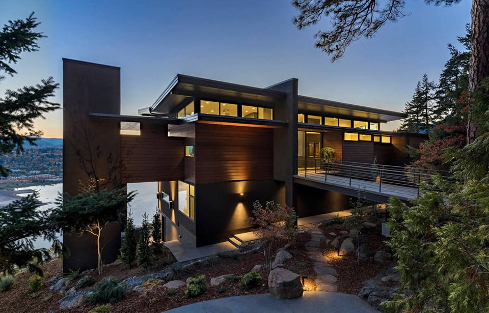 9 Modern Contemporary Cliff House - Local Home US - Home ...