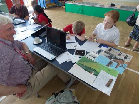 Know Your Place event at Ashton Vale Primary