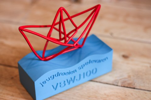 trophy we made for Amsterdamsche Roeibond to celebrate 100 years of VBWJ.