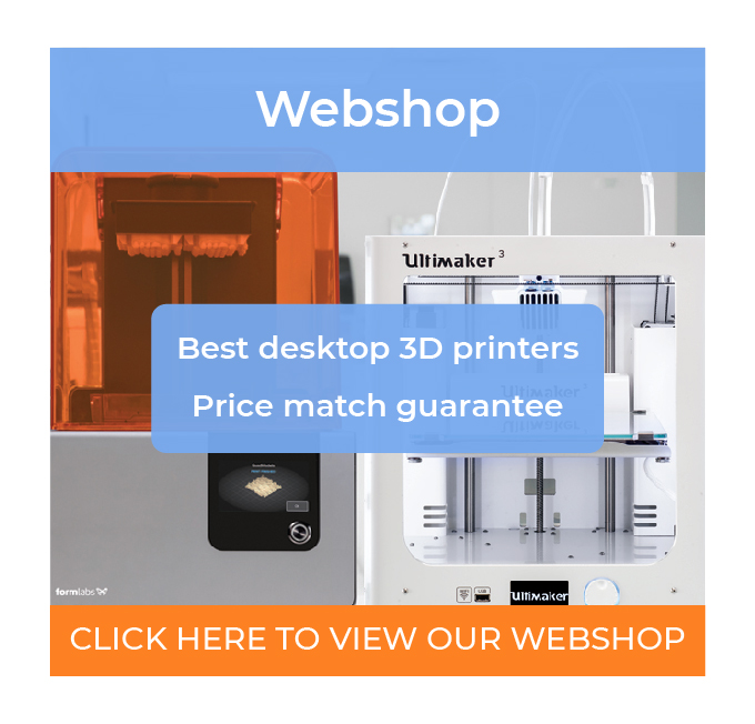 Ultimaker and Formlabs 3D printers