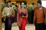 Dawn of a new era in Myanmar as Aung San Suu Kyi's party takes over - 2