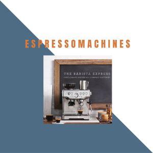 Espressomachines van Sage