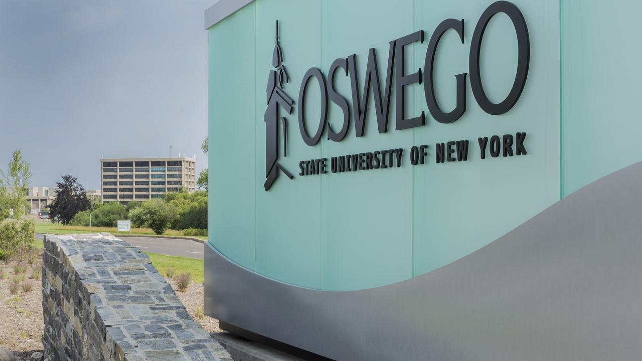 Oswego State entrance