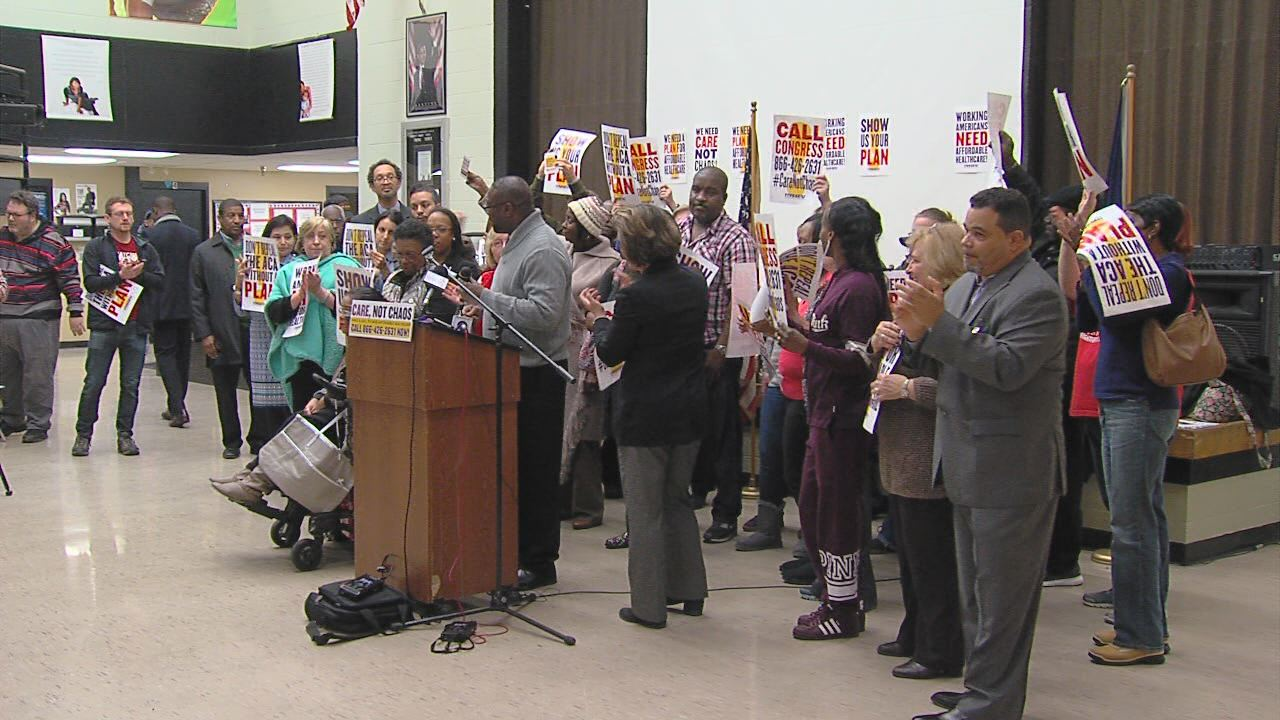Affordable Care Act Rally