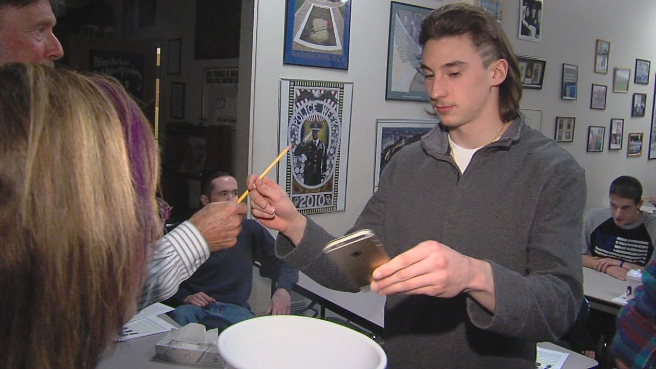 BOCES Students turn over cell phones