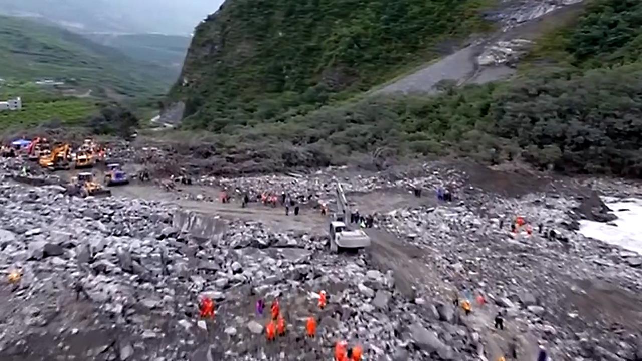 China landslide rescue64592586-159532