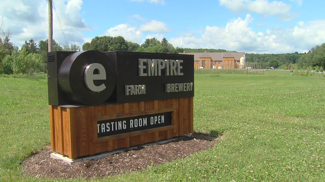Empire Farm Brewery Exterior