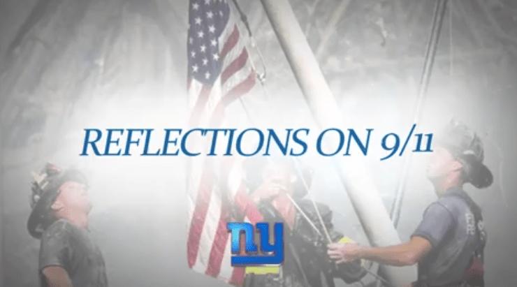 NY Giants 911 Reflections