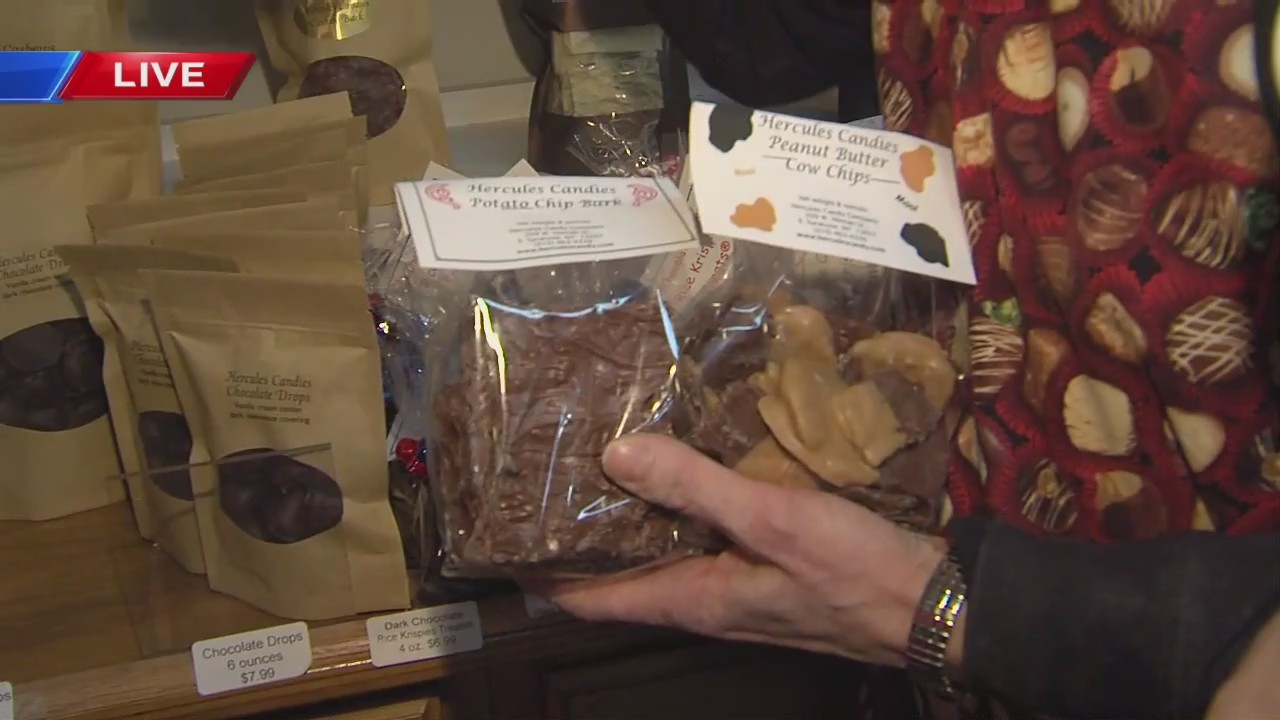 A live interview at Hercules Chocolate in East Syracuse